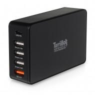 TorriiBolt USB-PD & QC 3.0 - 5 Ports Charging Hub (1)