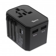 TorriiBolt USB-PD & QC 3.0 Universal Travel Adapter