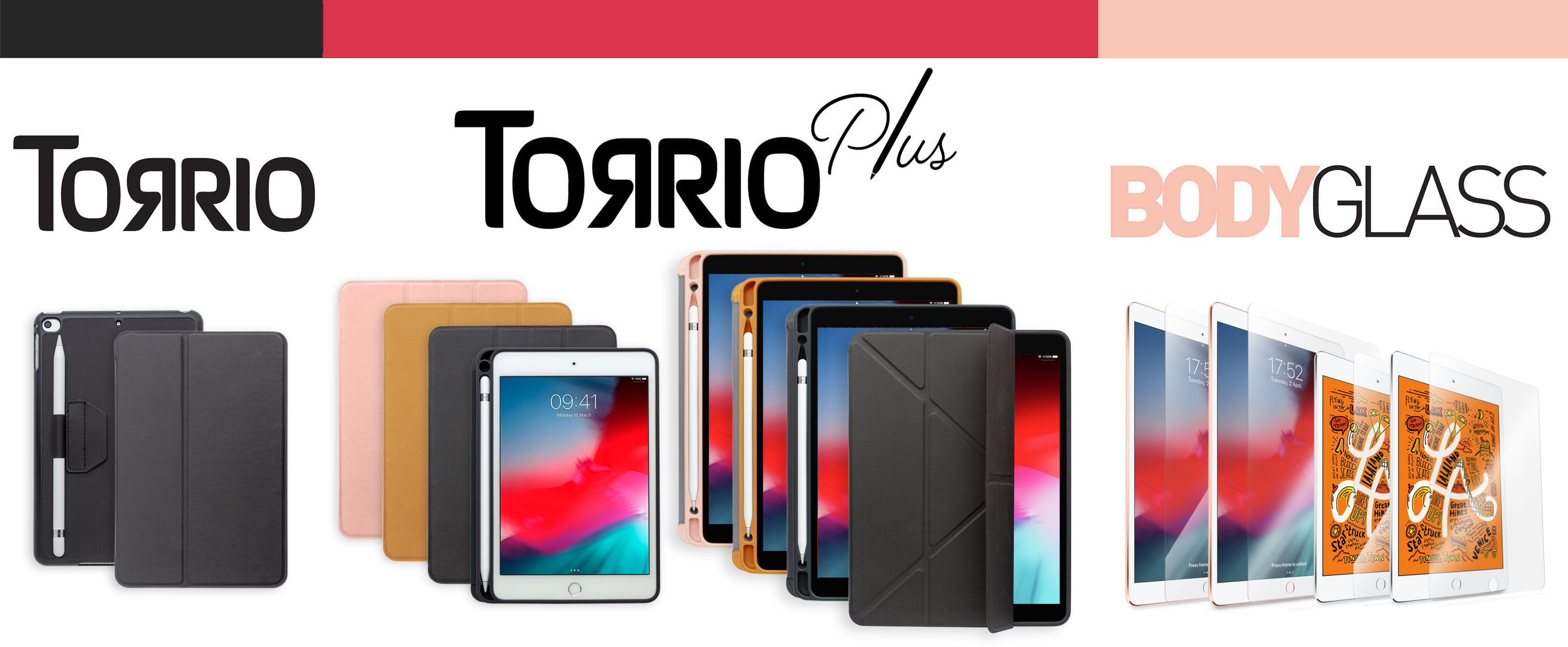 """Torrii introduces Protective Accessories for iPad mini 5 and iPad Air 10.5"""""""