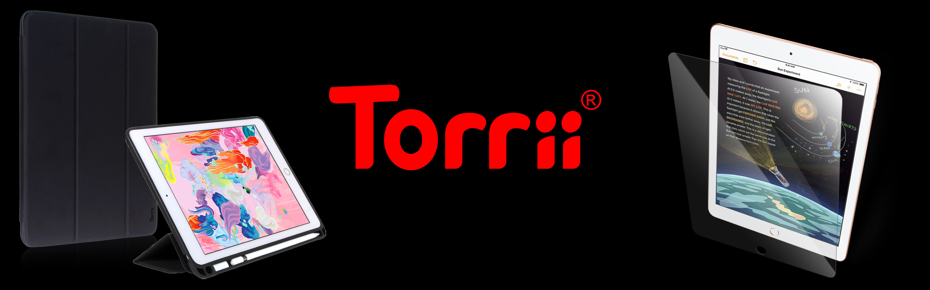 Torrii Introduces TORRIO Plus and BODYGLASS for iPad