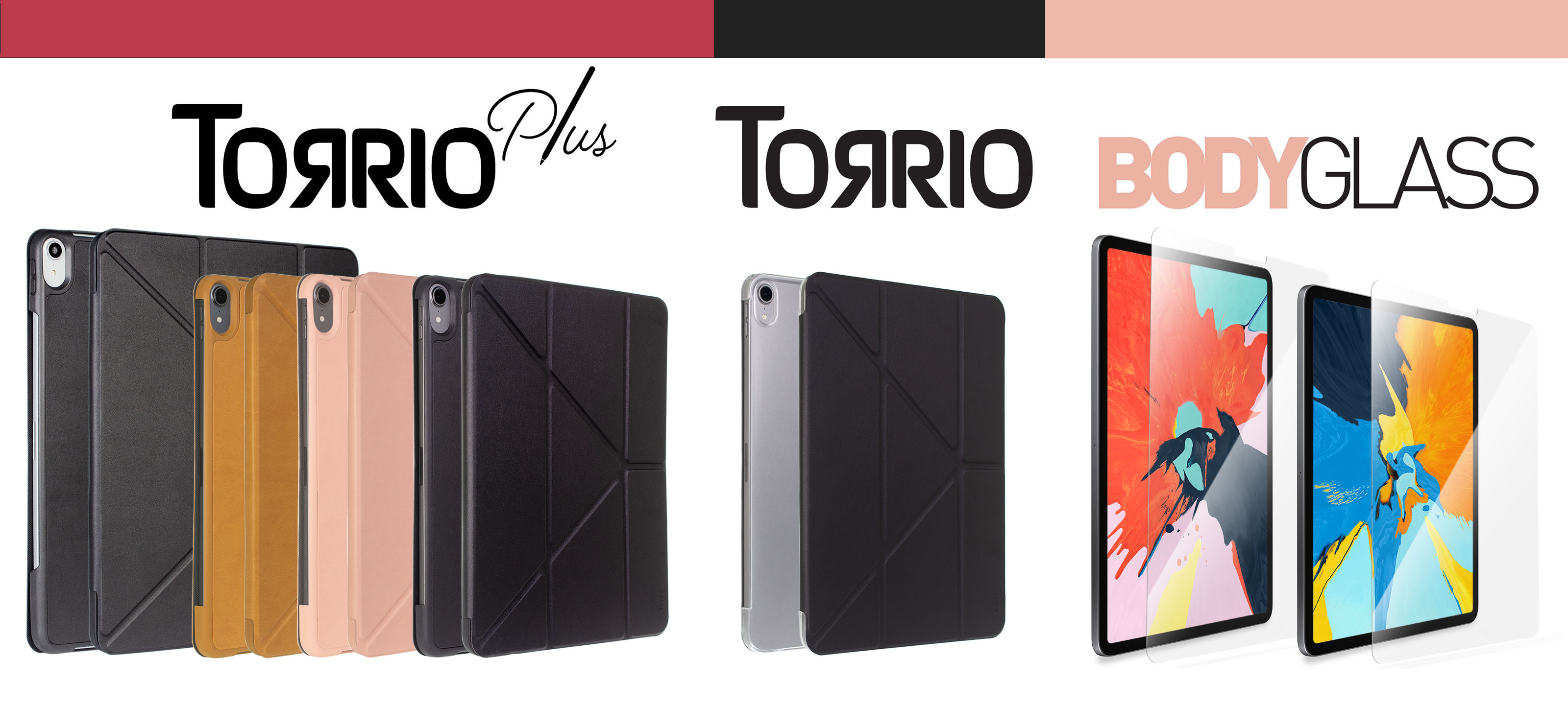 Torrii introduces Protective Accessories for iPad Pro