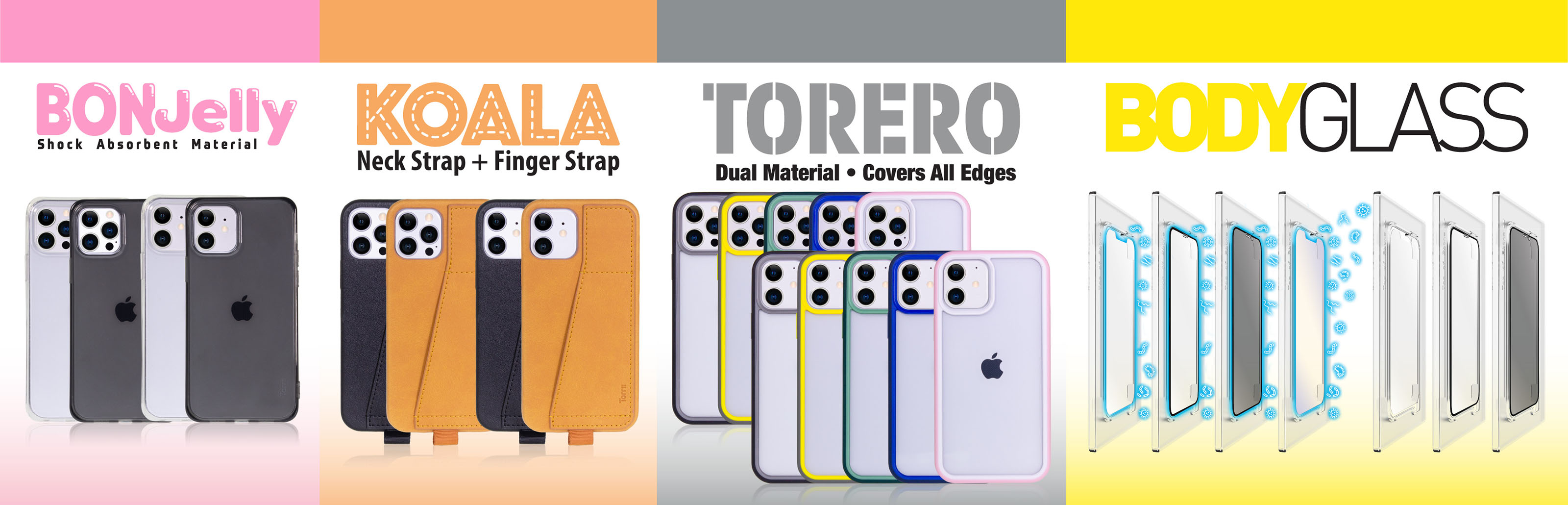 Torrii introduces new line of cases for iPhone 12 mini, iPhone 12/12 Pro and iPhone 12 Pro Max.